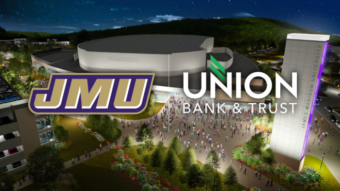 JAMES MADISON ANNOUNCES FACILITY UPDATES, CORPORATE NAMING PARTNERSHIP FOR UNION BANK & TRUST CENTER