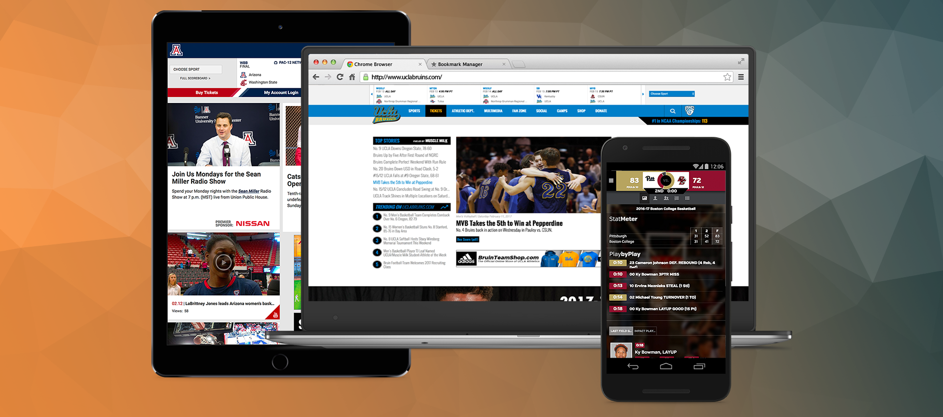 APPETIZE AND LEARFIELD'S SIDEARM SPORTS TO BRING MOBILE
