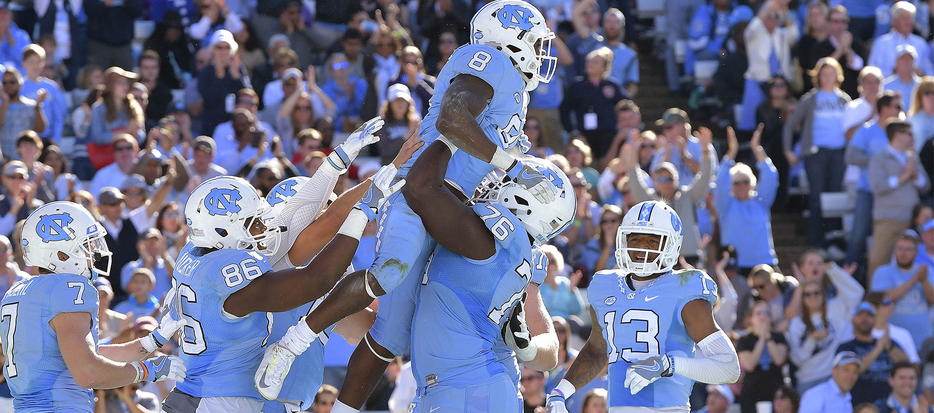 North Carolina Tar Heels 2