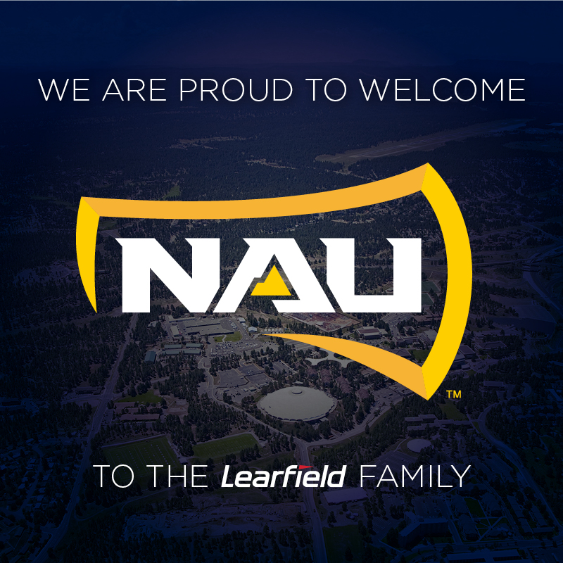 NAU ATHLETICS TAPS LEARFIELD AS MULTIMEDIA RIGHTS PARTNER